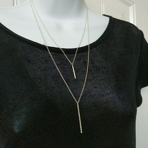 Gorjana Kiernan Silver Necklace